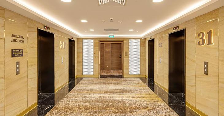 Управление освещением в лифтовых холлах