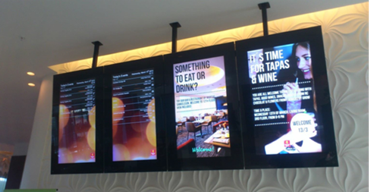 Digital Signage for hotel